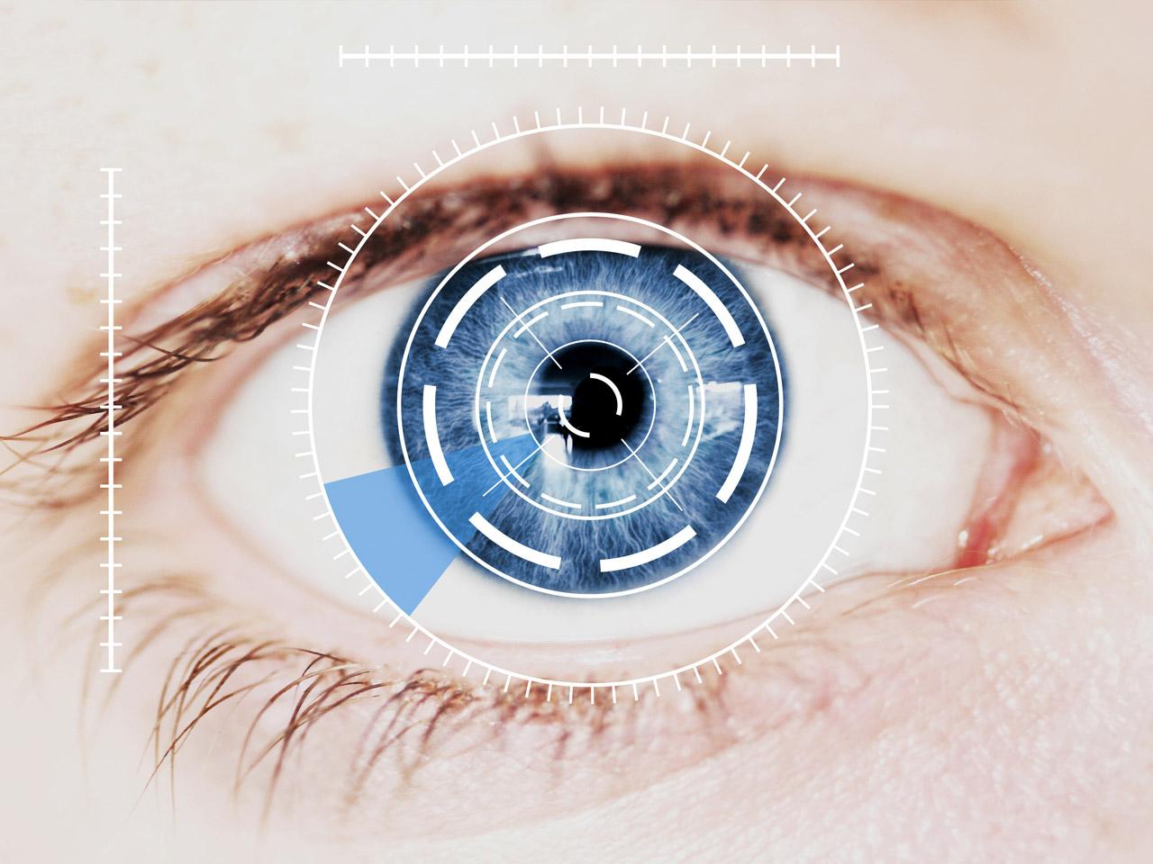 Lecteur biometrique reconnaissance de l iris