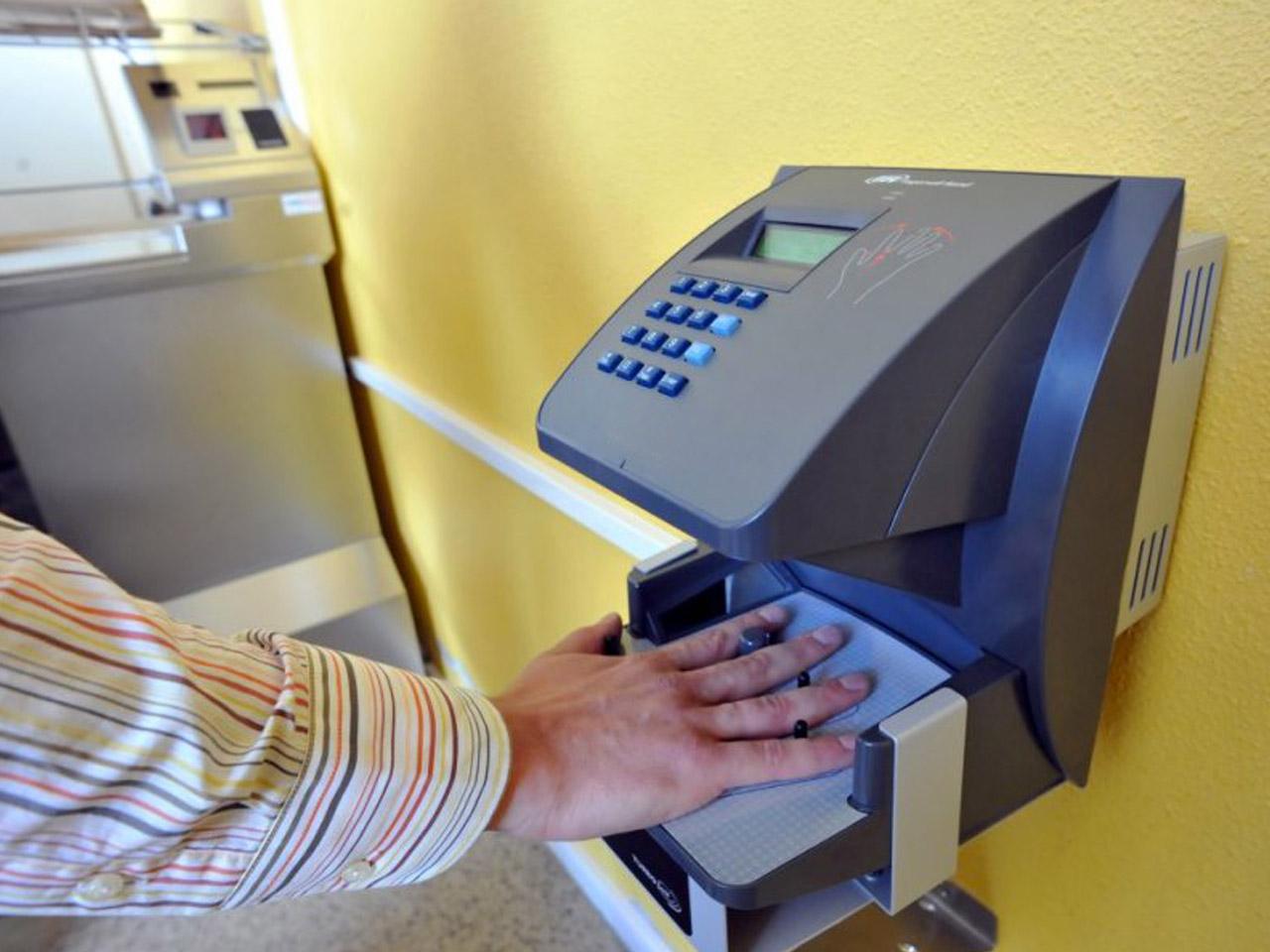 Lecteur biometrique reconnaissance de la main