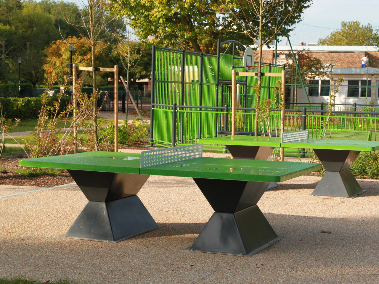 Table de ping-pong en resine